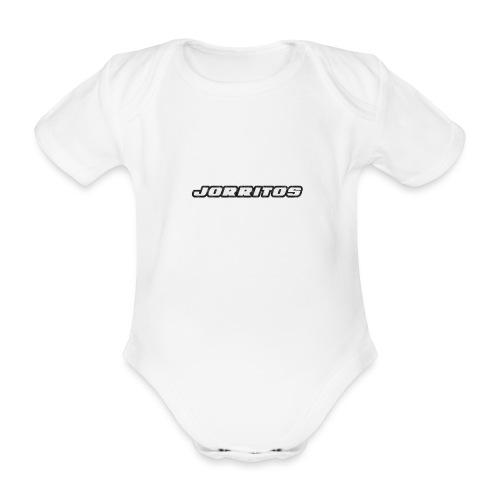 Logo Jorritos - Baby bio-rompertje met korte mouwen