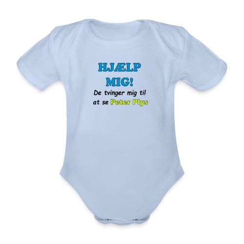 peter-plys3 - Kortærmet babybody, økologisk bomuld