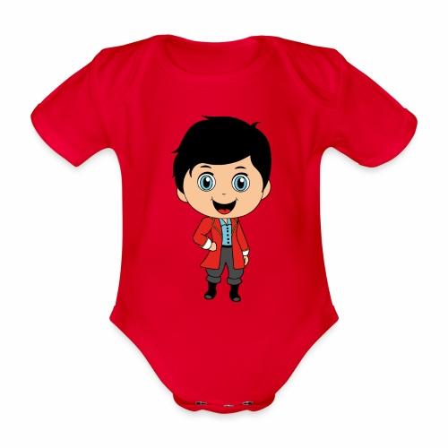 Piratenjunge - Baby Bio-Kurzarm-Body