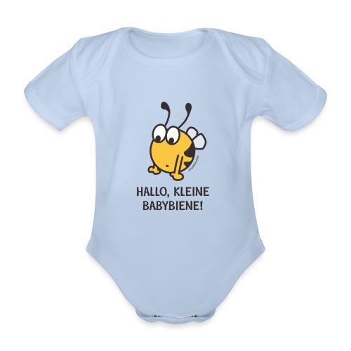 Hallo, kleine Babybiene! - Baby Bio-Kurzarm-Body