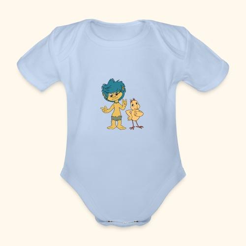 Plumps & Küken - Baby Bio-Kurzarm-Body