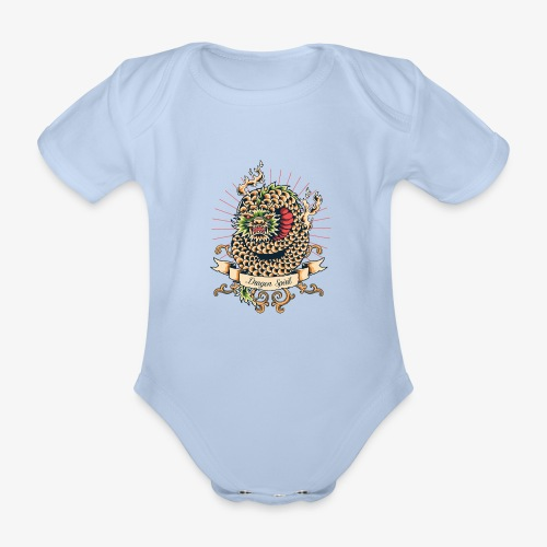 Drachengeist - Baby Bio-Kurzarm-Body