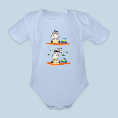 Windstärke 5 Eselohren - Baby Bio-Kurzarm-Body