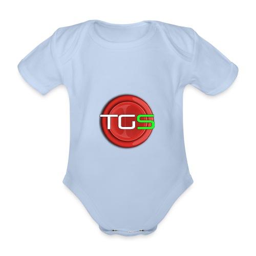 HUGEBUTTON - Organic Short-sleeved Baby Bodysuit