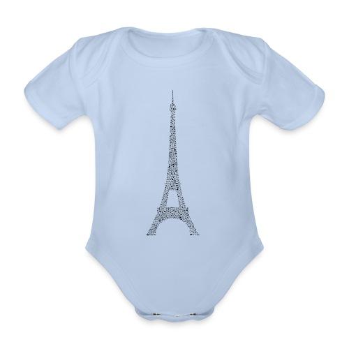 Eifelturm Paris - Baby Bio-Kurzarm-Body