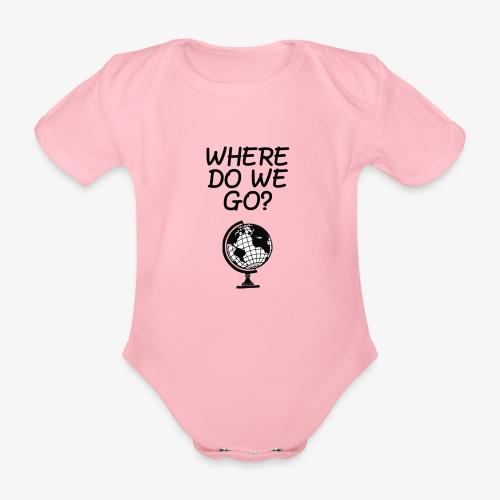 WorldMap   WhereDoWeGo? - Body ecologico per neonato a manica corta