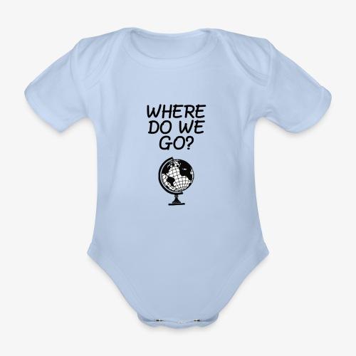 WorldMap | WhereDoWeGo? - Body ecologico per neonato a manica corta