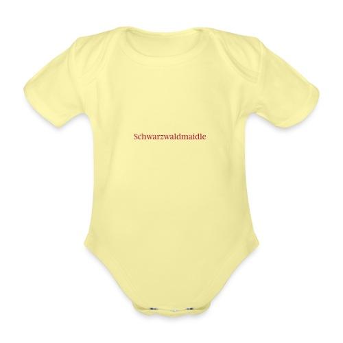 Schwarzwaldmaidle - T-Shirt - Baby Bio-Kurzarm-Body