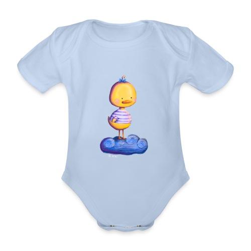 Entchen im Traumland - Baby Bio-Kurzarm-Body