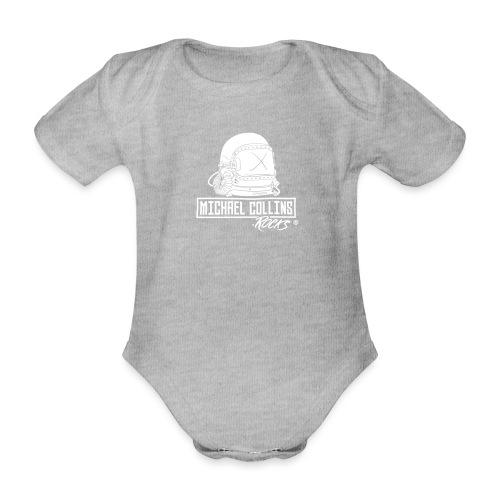 michaelcollins.rocks Logo Astronaut - Baby Bio-Kurzarm-Body