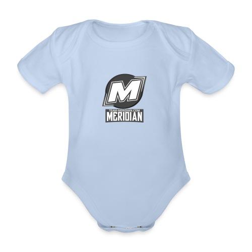 Meridian merch - Baby Bio-Kurzarm-Body