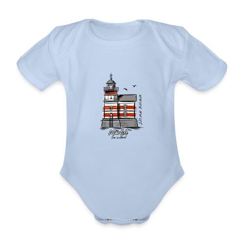 MÄRKET FYR MAJAKKA Tekstiles, gifts, products - Vauvan lyhythihainen luomu-body