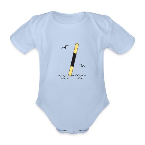 FP25 LÄNSIVIITTA Merimerkit funprint24 net - Vauvan lyhythihainen luomu-body