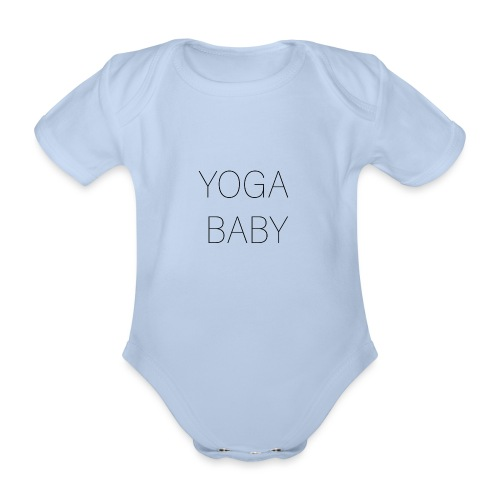 Yoga baby! - Ekologisk kortärmad babybody