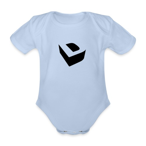Extruded D - Organic Short-sleeved Baby Bodysuit
