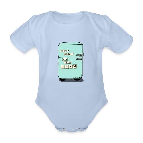 Your Milk Is Too Warm - Organic Short-sleeved Baby Bodysuit