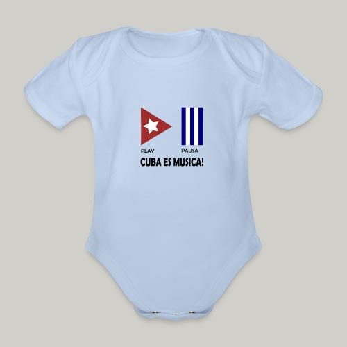 Cuba es musica - Baby Bio-Kurzarm-Body