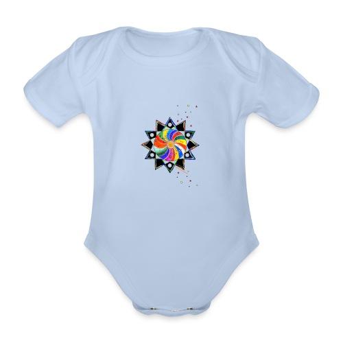 SternenZauber - Baby Bio-Kurzarm-Body