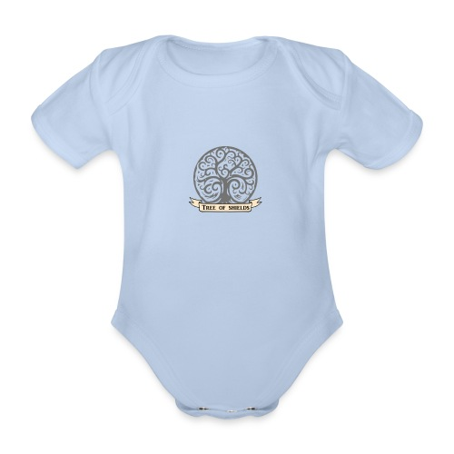 TOS grey tiny 3in png - Organic Short-sleeved Baby Bodysuit