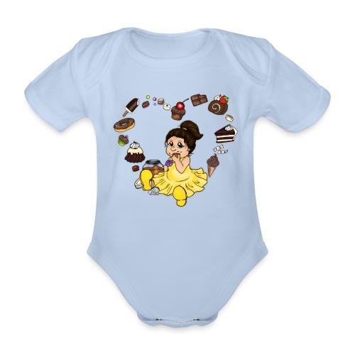 Schokoline und ihr süßer Traum - Baby Bio-Kurzarm-Body