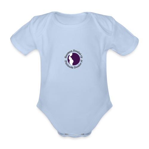 Suomen Doulat ry logo - Vauvan lyhythihainen luomu-body