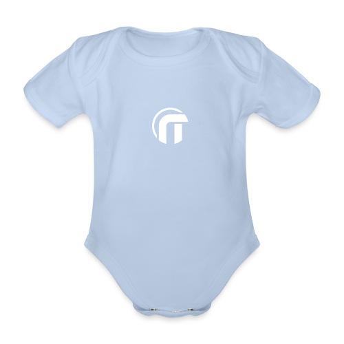 Logo Nowtech blanc - Body Bébé bio manches courtes