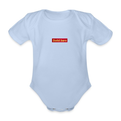 1 - Organic Short-sleeved Baby Bodysuit
