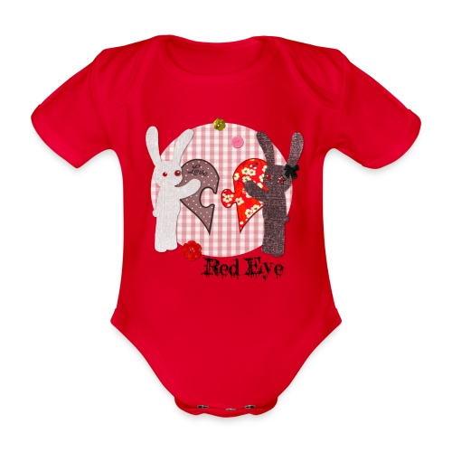 Body Red Eye - Body Bébé bio manches courtes