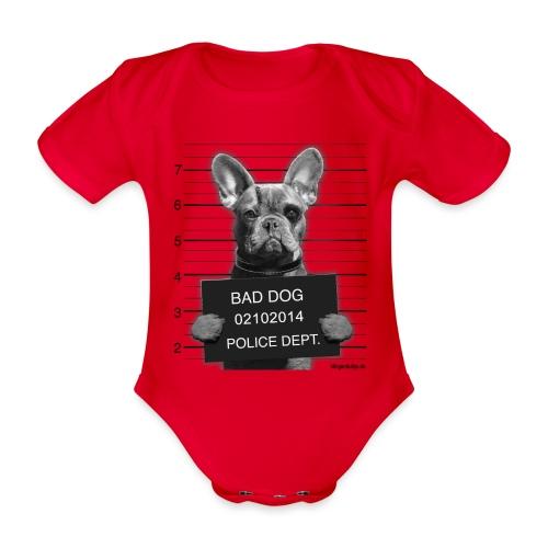 baddogsw png - Baby Bio-Kurzarm-Body