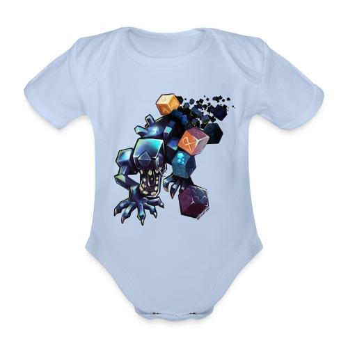BDcraft Alien - Organic Short-sleeved Baby Bodysuit