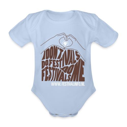 tshirt graphic042 - Baby bio-rompertje met korte mouwen