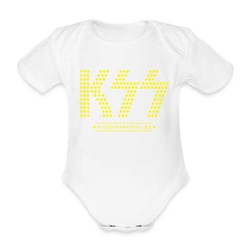 kss tshirt ksslikekiss 02 - Organic Short-sleeved Baby Bodysuit