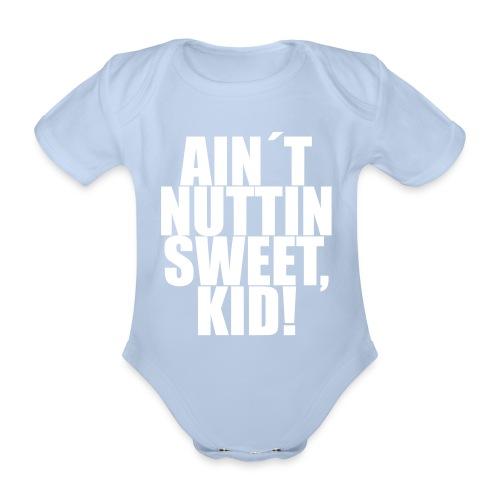 NUTTIN - Baby bio-rompertje met korte mouwen