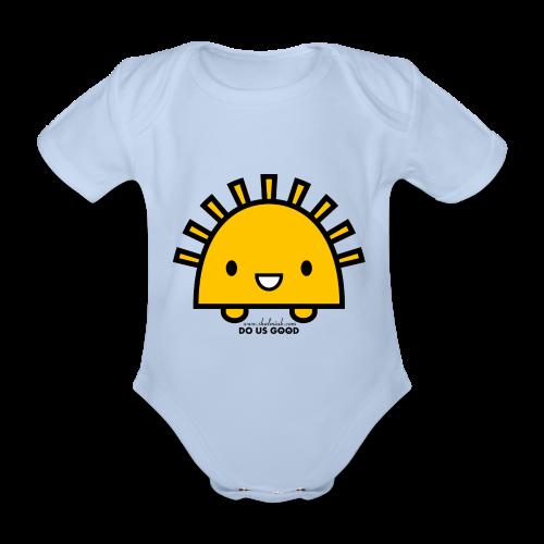 SUNNY - Vauvan lyhythihainen luomu-body