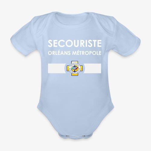 Gamme Secouriste FFSS - Body Bébé bio manches courtes