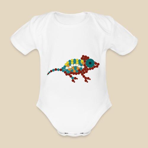 Chameleon - Body Bébé bio manches courtes