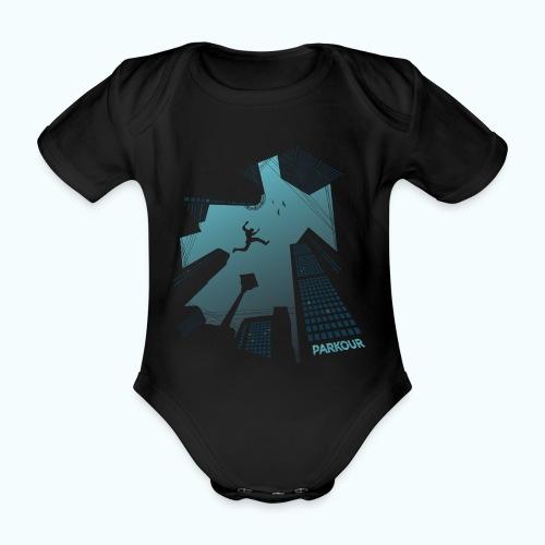Urban Parkour - Organic Short-sleeved Baby Bodysuit