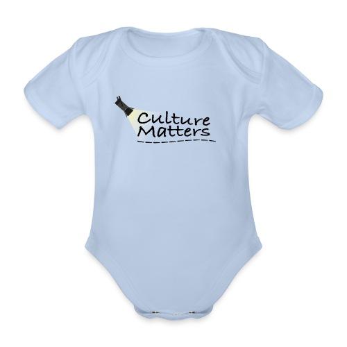 Eenzijdige bedrukking - Baby bio-rompertje met korte mouwen