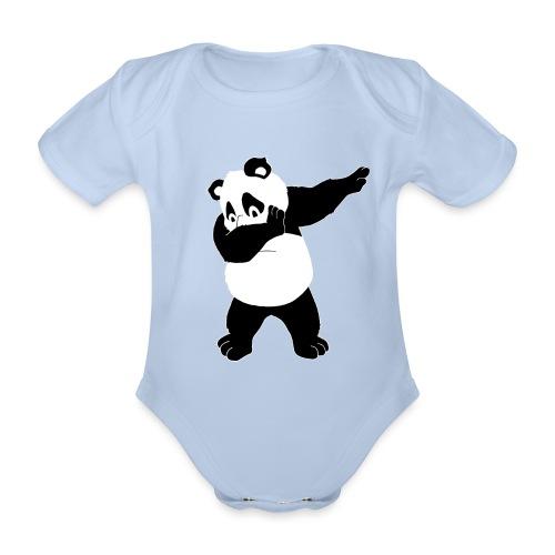 Dabbing Panda Bär - Baby Bio-Kurzarm-Body