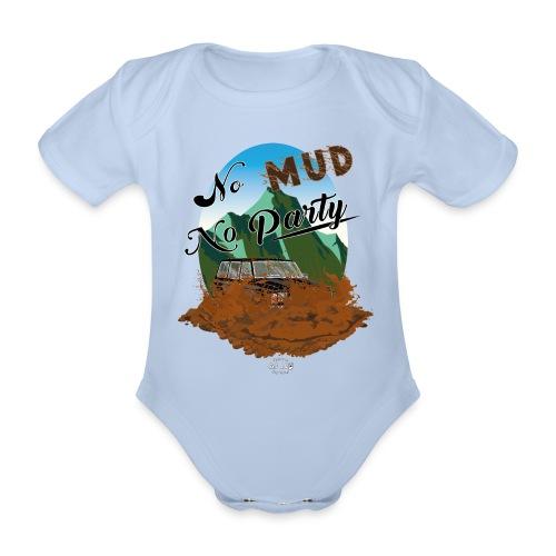 No Mud No Party - Patrol - Body orgánico de manga corta para bebé
