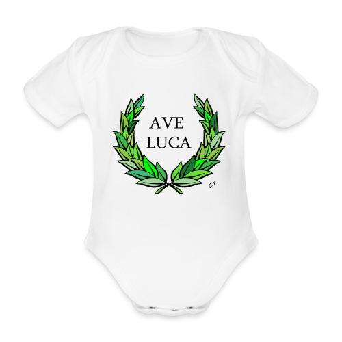AVE LUCA nome nascita modificabile a richiesta - Body ecologico per neonato a manica corta
