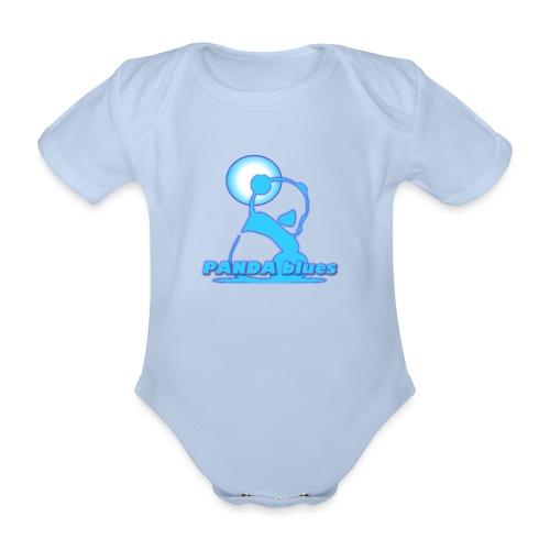 PANDABLUES - Body Bébé bio manches courtes