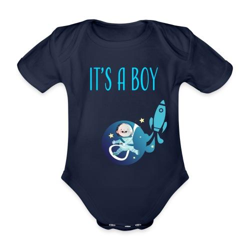 It's a Boy! Witzige süße Umstandsmode T-Shirt - Baby Bio-Kurzarm-Body