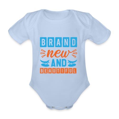 Brand new and Beautiful - Baby Bio-Kurzarm-Body