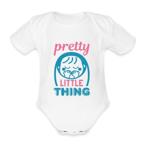 Pretty little thing - Baby Bio-Kurzarm-Body