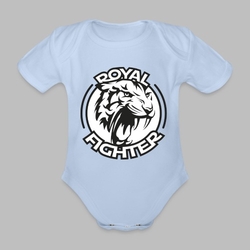 Royal Fighter - Baby Bio-Kurzarm-Body