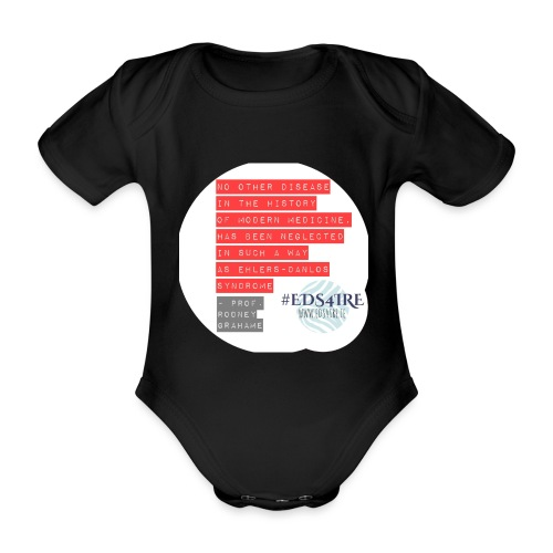 Rodney Grahame Quote #EDS4IRE - Organic Short-sleeved Baby Bodysuit