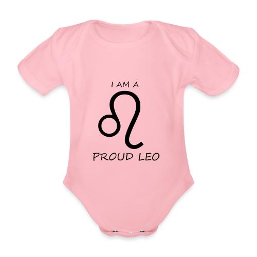 LEO - Organic Short-sleeved Baby Bodysuit