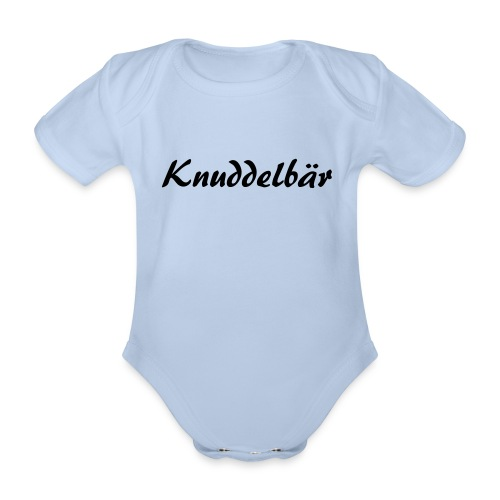 Knuddelbär - Baby Bio-Kurzarm-Body