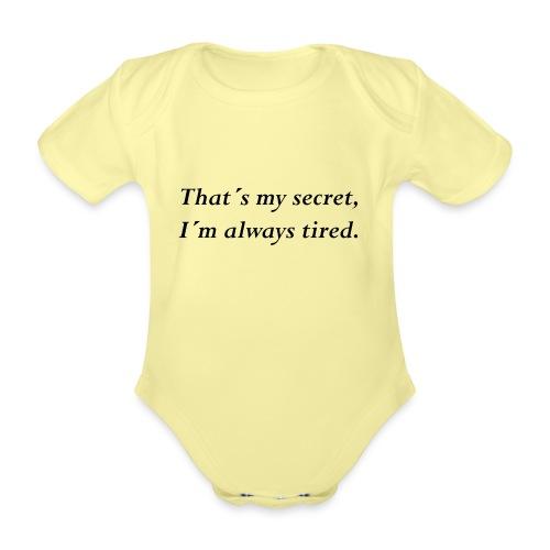 Secret - Baby Bio-Kurzarm-Body